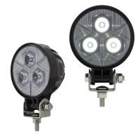High Power 3 LED Round Compact Flood Work Light
