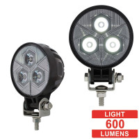High Power 3 LED Round Compact Flood Work Light