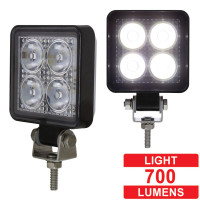 High Power 4 LED Square Compact Flood Work Light