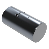 Western Star Aluminum Replacement Cylindrical Diesel Fuel Tank