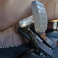 """Peterbilt 2"""" Clutch Pedal Extender On Pedal"""