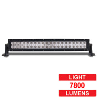 "21.5"" Super Powered LED Spot/Flood Work Light Double Row Bar"