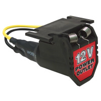 RoadPro 12-Volt Power Outlet Power Port With 6' Cord