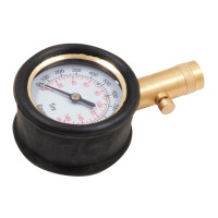 RoadPro Large Dial Tire Gauge With Durable Housing