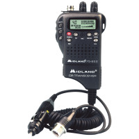 Midland 75822 40 Channel Hand Held CB Radio And 12V Antenna