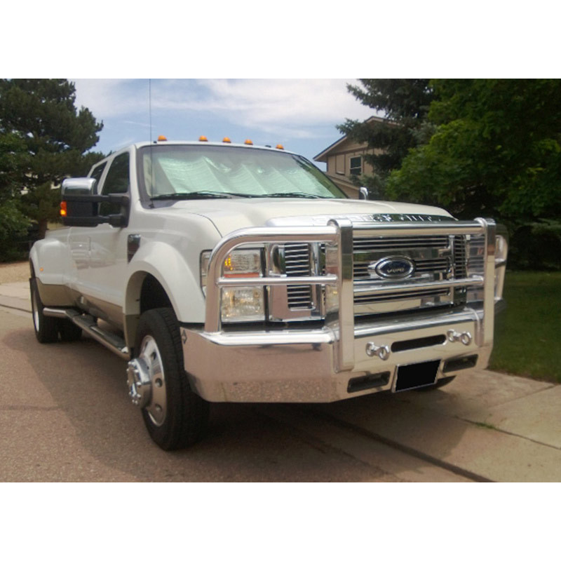 Herd Grill Guards : Ford f super duty extended cab herd aero lt bumper