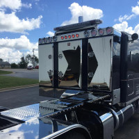Enclosed 3 Door Aluminum Fleet Rack By Brunner Fabrication