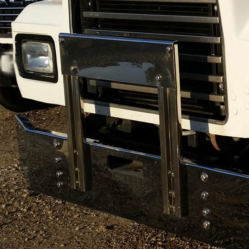 Valley Chrome Bumpers : Mack r rd series bumper grill guard by valley chrome