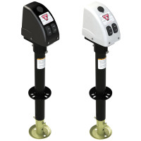 Bulldog Powered Drive A-Frame Tongue Jack 3500 lbs Rating 500187 500188. Case In White Or Black.