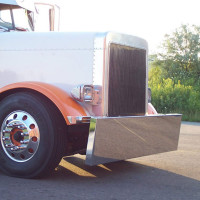 Kenworth W900 Blind Mount Bumper Lift Kit