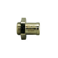 Straight Removable Hose End For EZ Oil Drain Valves - Small