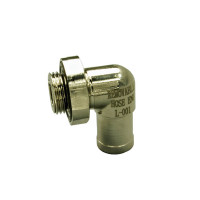 90 Degree Removable Hose End For EZ Oil Drain Valves - Small