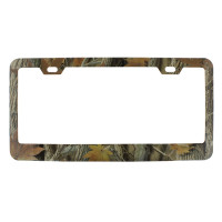 Foliage Camo License Plate Frame