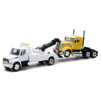 International 4200 Tow Truck With International LoneStar Cab