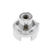 """Chrome 1"""" 13/18 Speed Vertical LED Gearshift Mounting Adaptor"""