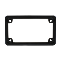 Die-Cast Motorcycle License Plate Frame