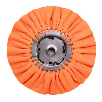 Renegade Orange Mill Treated Airway Buffing Wheel 16 Ply