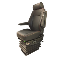 Air Chief Genuine Leather Truck Seat By Knoedler Manufacturers