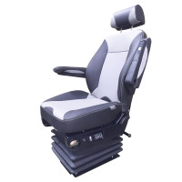Air Chief Synthetic Leather Truck Seat With Probax By Knoedler Manufacturers