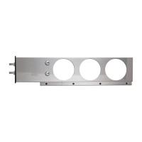 Stainless Steel Spring Loaded Mud Flap Hanger Light Bar - No Lights