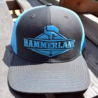 Snapback Neon Blue Hammerlane Trucker Hat