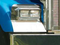 Kenworth W900L Headlight Surround Fender Guard
