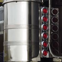 """19.75"""" Peterbilt Rear Air Cleaner Light Bar By Roadworks"""