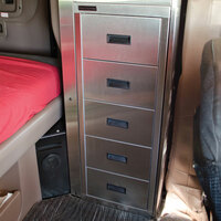 Five Drawer Storage Solution By Iowa Customs