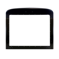 Peterbilt 379 Extended Hood Black Grill Surround