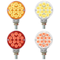 """3"""" Double Face Pearl LED Pedestal Light By Grand General"""