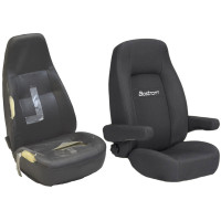 Bostrom Seat Cushion & Cover FRED Refresh Kit Before and After