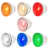 "1"" Dual Function Diamond Lens LED Marker Light By Grand General"