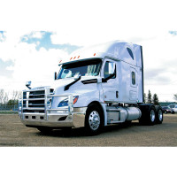 Cascadia 2018 AeroPLUS Grill Guard Truck Side