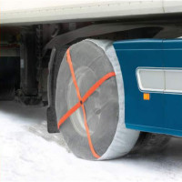 "AutoSock Traction Device For 17"" To 20"" Wheels"