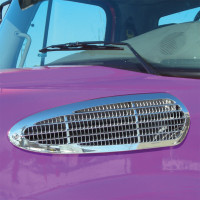 Freightliner Business Class M2 Chrome Intake Grill Mounted