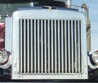 Peterbilt 359 Grill With 18 Vertical Bars By Roadworks