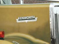 Kenworth Hood Emblem Accent - 2 Cutout Accent
