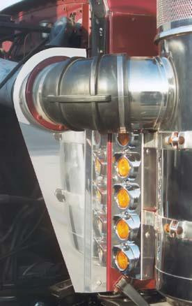 Peterbilt 359 Hood Intake Panel