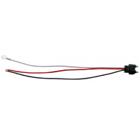 "3-Pin Wire Stop/Turn/Tail Plug 10"" Leads"