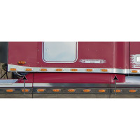 Freightliner Century / Columbia Sleeper Panels with Supernova LED Lights By Roadworks