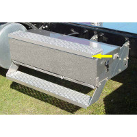 International 9900 Battery Or Tool Box Stainless Steel Step Trim