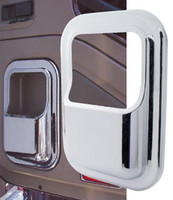 International I Model Chrome Plastic Door Pocket Cover