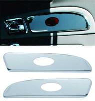 Peterbilt 2006 & Up Chrome Door Emblem Panal Trim Pair