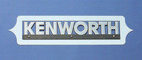 "Kenworth ""Aura"" Logo Trim"