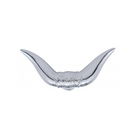 Chrome Texas Bull Horn Truck Hood Ornament