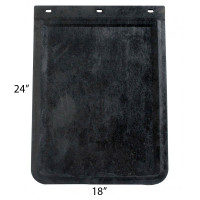 "24"" x 18"" Front Rubber Mud Flap"