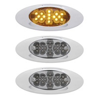 16 LED Phantom I Clearance Marker Light With Reflectors