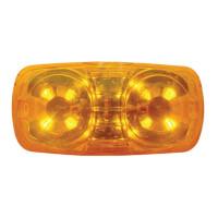 12 LED Rectangular Clearance Marker LEDs