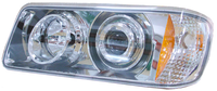 Freightliner FLD 120 112 Projector Headlights