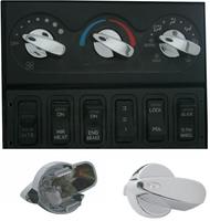 International 2005 and  Newer Chrome AC Control Knob